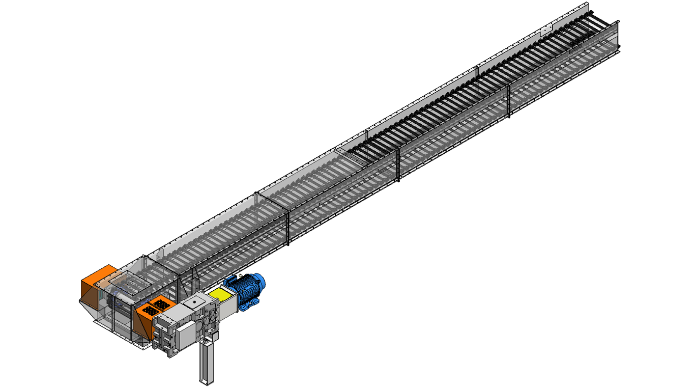 Drag Conveyor Industrial